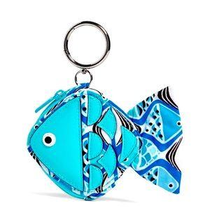 Vera Bradley Fish Bag Charm